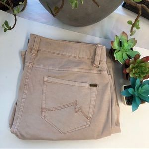 Dusty pink Max jeans size 10, skinny